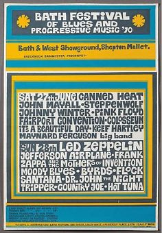 Image result for bath blues festival 1970