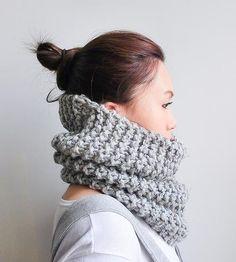 Infinity Cowl Neckwarmer by KLJT - #crochet