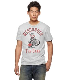 Wisconsin Badgers Camp T-Shirt