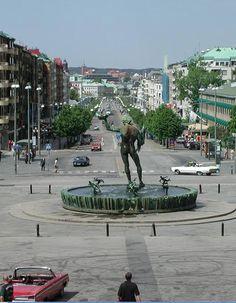 Götaplatsen, Göteborg.