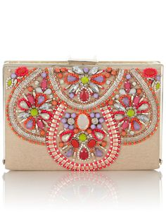 Online Fashion Shop Shop women fashion accessories and clothes Ethnic Bag, Beaded Bags, Bijoux Diy, Fabric Jewelry, Clutch Wallet, Gold Clutch, Clutch Bags, Handmade Bags, Beaded Embroidery
