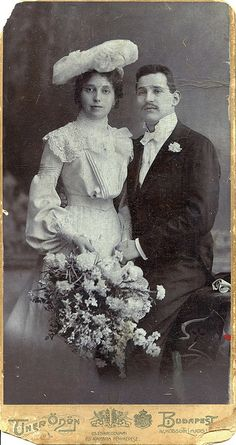 Circa 1901 Newlyweds | via Flickr - Photo Sharing!