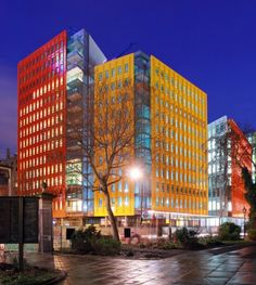 Central Saint Giles, London, England - Renzo Piano Building Workshop, Fletcher Priest Architects #colour