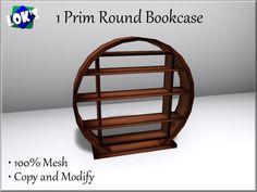 round bookcase   Lok's_1_Prim_Round_Bookcase_Mesh_(Dark_Wood).jpg?1361480445