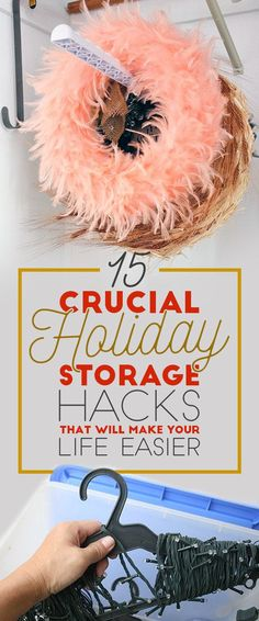15 Crucial Holiday Storage Hacks That Will Make Your Life Easier