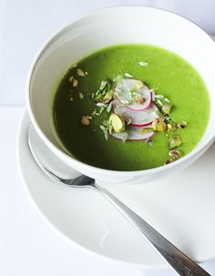 Radish Top Soup | The Raw and the Cooked