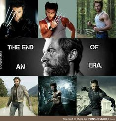 Thank you, Hugh Jackman. The only Wolverine