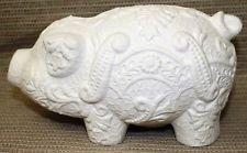 Ceramic Bisque Pig Lace Piggy Bank Boothe Mold 1441 U-Paint Ready To Paint Ceramic Painting, Painted Ceramics, Ceramic Bisque, Piggy Bank, Sculpting, Craft Supplies, Lion Sculpture, Statue, Lace