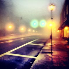 Fog in Blowing Rock, NC