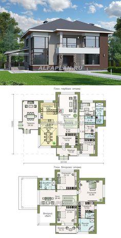 34 Ideas For Garden Projects Layout Home Garden Design, Modern Garden Design, Dream Home Design, Modern House Design, Sims House Plans, Dream House Plans, Modern House Plans, Garden Architecture, Architecture Design
