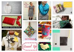 Do not despair, there is still time to make that perfect handmade holiday gift!  With a little help from my friends, I have compiled a quick round up of some awesome gifts that you can whip up in under an hour. There should be something quick and easy to make for everyone on your list… 1. Sweet Little Capelet – Simple Simon & Co. 2. Go To Shift Dress – Go …