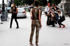 On the streets Paris