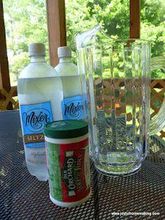Joyful homemaking: make your own sparkling juices