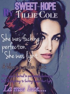 SWEET HOPE By Tillie Cole art made by Katy.