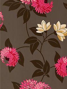 "Sanderson wallpaper - ""Pom Pom"""