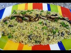 Mushroom and Garlic Couscous, easy and delicious recipe! - YouTube