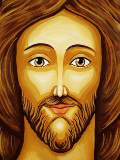 Sagrado coração de Jesus em Massaranduba-SC pintado por mim.