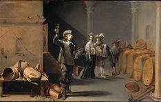 1642.Jacob Duck,The Wine Tester,Oil on panel,44.7x72.2cm.Rijksmuseum, Amsterdam.
