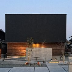 大阪府の注文住宅 リフォーム エクステリアのことならGrandLiving(グランリビング)。洗練された技術とデザインと安心施工。 Exterior Design, Home Interior Design, Interior Architecture, Interior And Exterior, Garden Design, House Design, Japanese House, Facade House, Modern Buildings