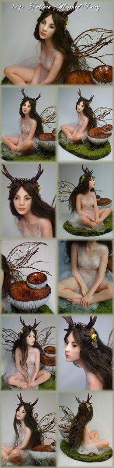 Nenúfar Blanco ~ #121 Nellora - Horned Fairy