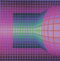 Gomba by Victor Vasarely