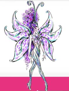 Bob Mackie Fairy Barbie - New for 2014 by Barbie Collectibles, illustration Bob Mackie