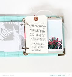 Blog: Video   Mixing it up in your Project Life® album with Stephanie Bryan - Scrapbooking Kits, Paper & Supplies, Ideas & More at StudioCalico.com!