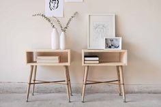 How to Build Simple Wood Nightstands | Apartment Therapy