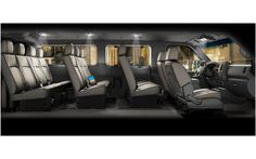 """2012 new Nissan Nv 12-passenger """"van."""" Bring the whole family and maybe some extras."""