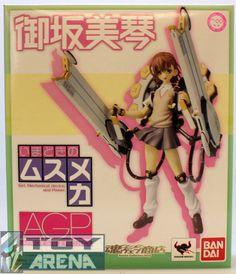 Visit http://www.toyarena.com/product_info.php/armor-girls-project-agp-imadoki-musumeka-misaka-mikoto-limited-bandai-figure-p-7628    Armor Girls Project AGP Imadoki no Musumeka Misaka Mikoto Limited Bandai Figure