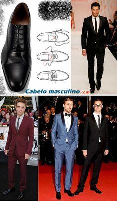 Sapato masculino Oxford. O clássico dos clássicos!