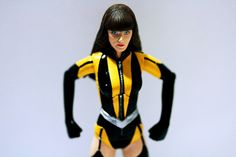 Silk Spectre II action figure.