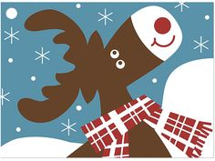 *Arctic Moose Theme Gift Cards