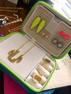"""Probably Polka Dots - Love your jewelry in our """"tangle-free"""" jewelry case!!  So cute"""