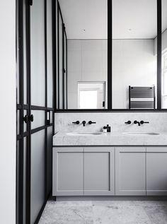 Steel.Clean.Bathroom