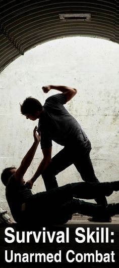 Few people think of unarmed combat as a survival skill. But if you think about it, unarmed combat is one of the most important skills. Everything you needed to know about survival Urban Survival, Survival Life, Wilderness Survival, Survival Tools, Camping Survival, Outdoor Survival, Survival Prepping, Emergency Preparedness, Survival Hacks