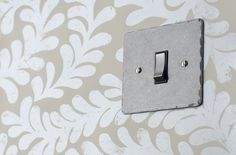 Our #grid #switches come in a variety of finishes. This is our stunning polished finish with a #hammered edge.