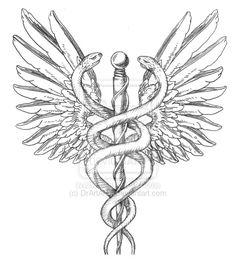 medical symbol tattoo on shoulder - Google Search