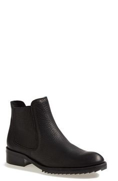$595, Black Leather Chelsea Boots: Pedro Garcia Odalys Chelsea Boot. Sold by Nordstrom. Click for more info: http://lookastic.com/women/shop_items/150892/redirect