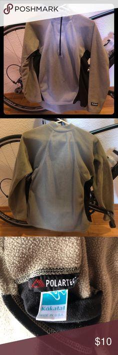 Kokatat fleece jacket, size s Kokatat Polartec fleece. Tan with mesh black sides. Kokatat Tops Sweatshirts & Hoodies
