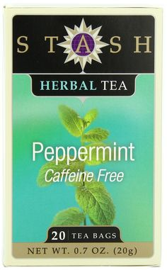 Stash Tea Peppermint Herbal Tea, 20 Count Tea Bags in Foil (Pack of 6) * Learn more by visiting the image link. (This is an affiliate link and I receive a commission for the sales)