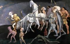 Fomorians - the Fomoire (or Fomorians) are a semi-divine race said to have inhabited Ireland in ancient times - victims/survivors of an ancient nuclear disaster?