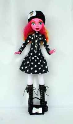 Wechselkleidung-pass-fuer-Monster-High-Outfit-Gooliope-Jellington-SET