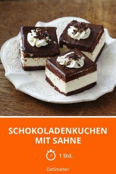 Schokoladenkuchen mit Sahne - smarter - Zeit: 1 Std. | eatsmarter.de