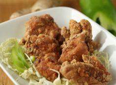 Toriniku no Tatsuta-age (Marinated Fried Chicken) Recipe on Yummly