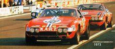 1973 Ferrari 365 GTB 4  Ferrari (4.390 cc.)   François Migault  Luigi Chinetti Jr.