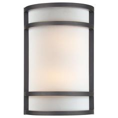 Minka Lavery ML 2 Light Width ADA Flush Mount Wall Sconce With Fluo Painted Restoration Bronze Indoor Lighting Sconces Washers