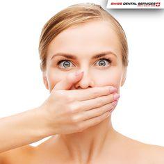 ¡Ven al dentista y huye del mal aliento! 90% de las causas del mal aliento están en la boca. Cepillarse los dientes y la lengua es esencial para mantener un buen aliento. Visitar al dentista dos veces al año también puede evitar una situación desagradable. -------------------------------------------- www.swissdentalservices.com/es #dentista #implantes #sonrisa #clínica #yosonrío