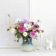 Maximal verknallt in meinen Selbstpflück-Strauß  . Einen schönen Abend ihr Lieben Insta-Leute  . This made my day... And the weather the autumnal light my freshly cooked and mashed pumpkin... Have a good night dear Insta-Friends! . #flowers #flowermagic #flowerpower #flowerslovers #flowerstagram #instaflowers #flowersofinstagram #flowersmakemehappy #flowerstyling #flowerblogger #germaninteriorbloggers #colors #bouquet #freshlypicked #selfmade #homedecor #shelfie #wohnkonfetti…