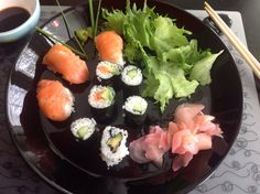 Sushi homemade Sushi, Homemade, Ethnic Recipes, Kitchen, Food, Cooking, Home Made, Kitchens, Essen